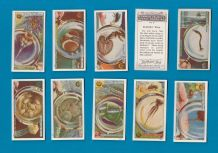TRADE cards set Common Objects Magnified 1925